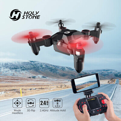 Holy Stone HS190 Foldable Mini Nano RC Drone for Kids Gift Portable Quadcopter