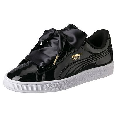 PUMA Basket Heart Patent Women\s Sneakers