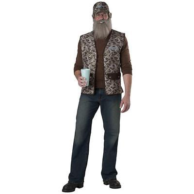 Uncle Si Costume Duck Dynasty for Adults New by InCharacter (Uncle Si Costume)