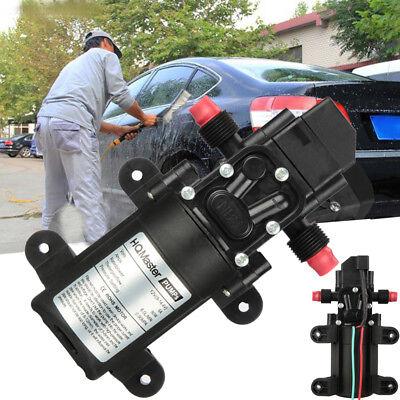 6l Min Motor Electric High Pressure Diaphragm Water Self Priming Pump 70w Dc12v