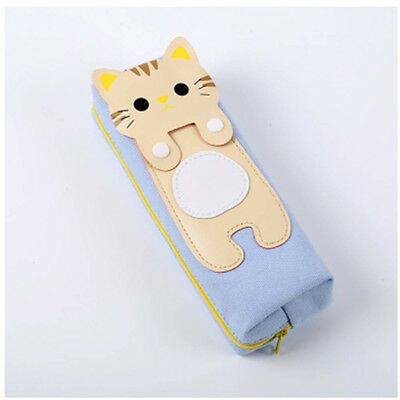 Cat Makeup For Kids (For Women Stationery Makeup Cartoon Kids Pencil Case Cute Cat Pen Cosmetic)