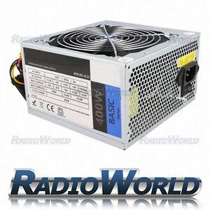 Maytrix 400w PSU ATX PC Power Supply RoHS Gaming Office Molex SATA Connectors
