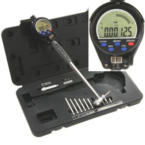 "Electronic Bore Gauge 2""-6"" Digital Precision Cylinder Measuring Hole Gage"