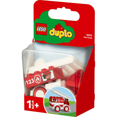 Lego Duplo Fire Engine Building Set - 10917