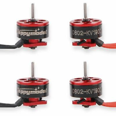 4pcs SE0802 19000KV Brushless Motors 1-2S Motor For Micro FPV Racing Drone Quad