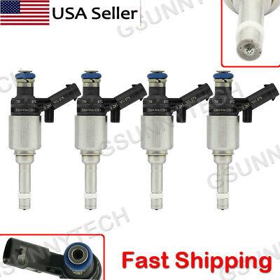 4x Fuel Injectors For Bosch Audi A4 A3 A5 TT VW T5 Eos CC 2.0L Turbo 0261500076