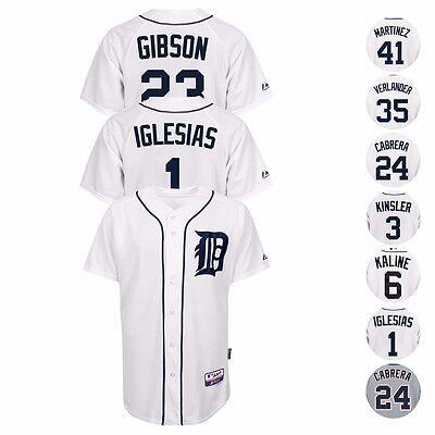 Detroit Tigers Authentic Cool Base (Detroit Tigers MLB Authentic On-Field MAJESTIC Cool Base Jersey Collection)