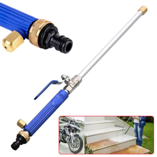 Garden Hose High Pressure Spray Wand Attachment Nozzle Power