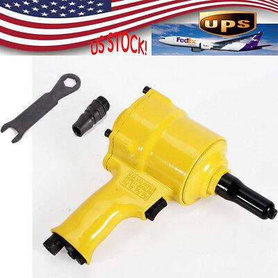 Pneumatic Air Hydraulic Pop Rivet Gun Riveter Riveting Tool 14 Inlet 90 Psi Us