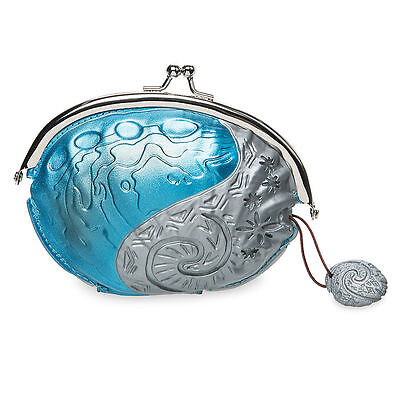 """Disney Store Authentic Princess Moana Movie Coin Purse 5"""" W Kids Adult Gift NWT"""