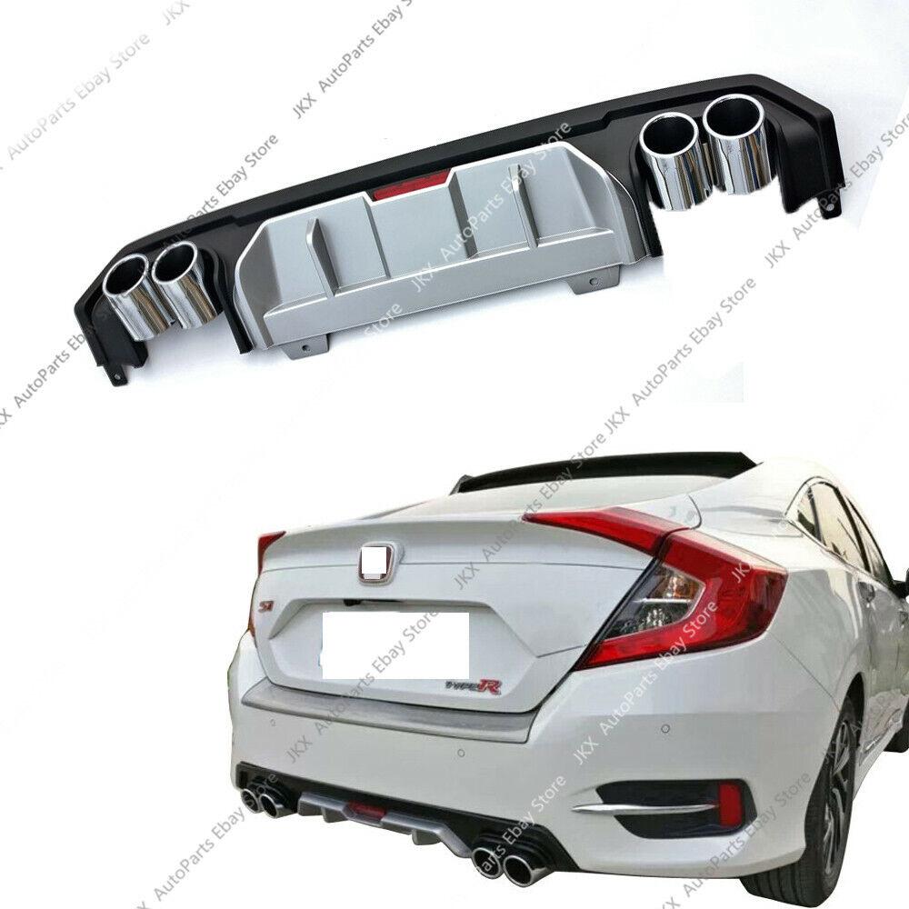 2020 Honda Fit: Bumper Protector Bumper Lip Diffuser W/ Exhaust For Honda