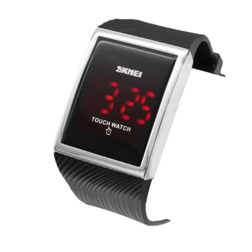 Touch Screen Outdoor Sports Digital Watch LED For Boys Girls