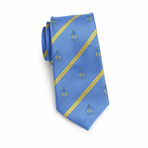 Alpha Tau Omega Fraternity Skinny Necktie- Crest-New!