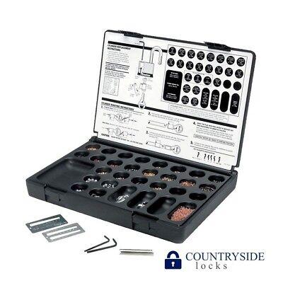MASTER PADLOCK MASTERKEYING SERVICE KIT. For Lock Rekeying, Pinning, Pin Parts for sale  Shipping to India