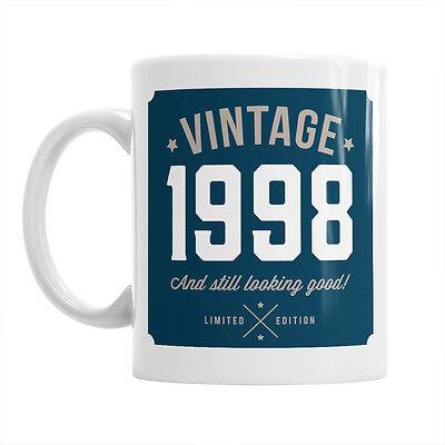 19th Birthday Vintage Gift Happy Present Idea For Girls Mum Her & Ladies Mug 19