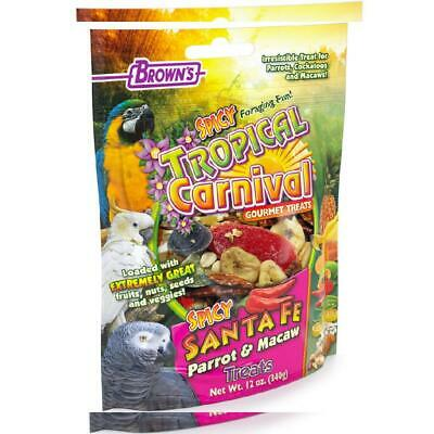 F.M. Brown'S Tropical Carnival Gourmet Spicy Santa Fe Parrot