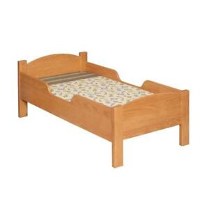NEW Little Colorado 088HONC Traditional Toddler Bed, Honey Oak