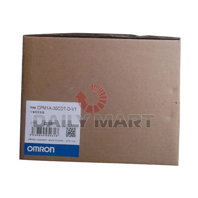 Omron Automation And Safety Cpm1a-30cdt-d-v1 Cpu Programmable Logic Controller