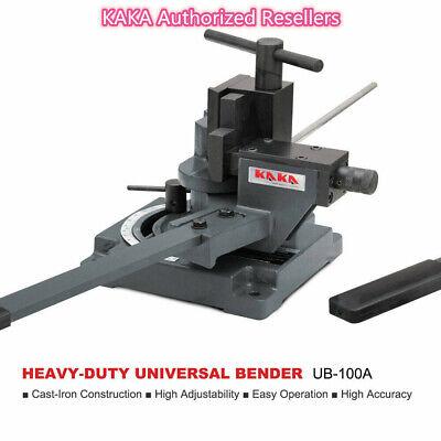 Kaka Industrial Ub-100a Heavy-duty Universal Bendercold Sheet Metal Bender