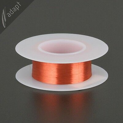 Magnet Wire Enameled Copper Red 44 Awg Gauge 155c 116 Lb 4813 Ft