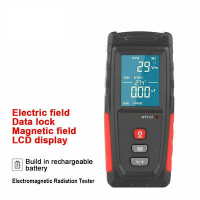 Electromagnetic Field Radiation Detector Tester Emf Meter Dosimeter Detector C