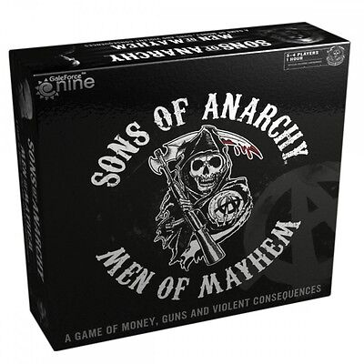 Sons Of Anarchy  Men Of Mayhem   Board Game  Gale Force Nine   New