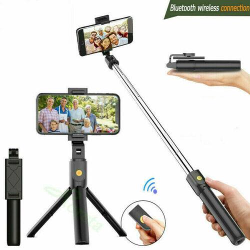 Bluetooth Selfie Stick Remote Extendable Telescopic Monopod