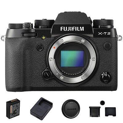 Fujifilm X-T2 / Fuji XT 2 Mirrorless Digital Camera Body Thanksgiving Sale