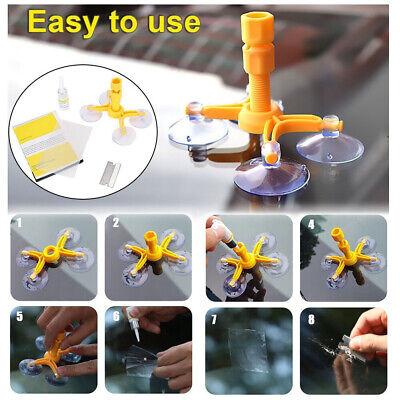 1x Windscreen Windshield Repair Tool Set DIY Car Kit Wind Glass Chip Crack US