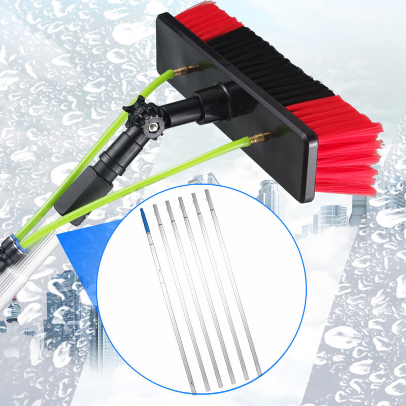 Cleaning Brush Density Window Gimbal Joint Poles Water Fed Brush Free Ship