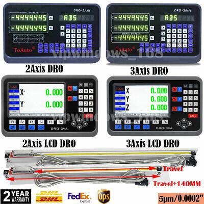 2345axis Digital Readout Dro Ttl Linear Glass Scale Encoder Cnc Milling Lathe