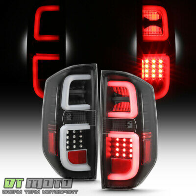 2014-2019 Toyota Tundra Pickup Truck [Black Edition] LED Tube Tail Lights Lamps
