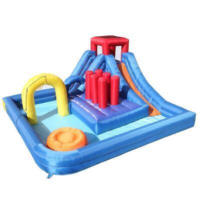 Inflatable Splash Water Bouncer Slide Bounce House Kids Fun Jumper Slide Large