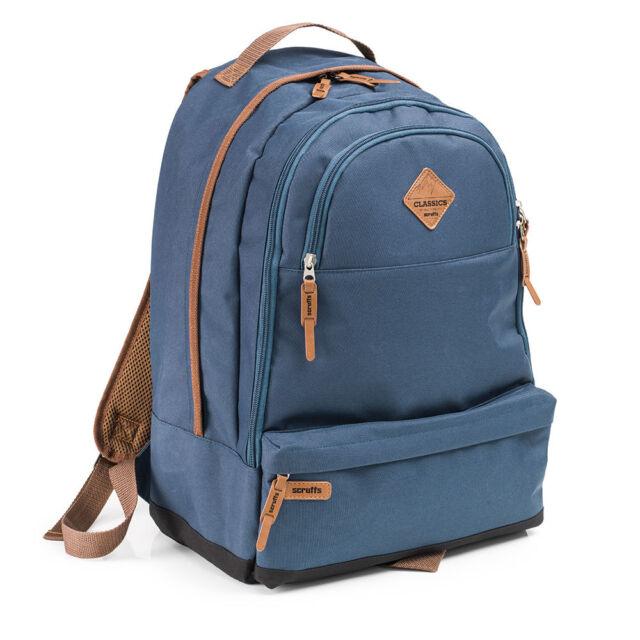 Scruffs CLASSIC RUCKSACK Navy Blue - Mens Work Bag, Safety Boot Storage