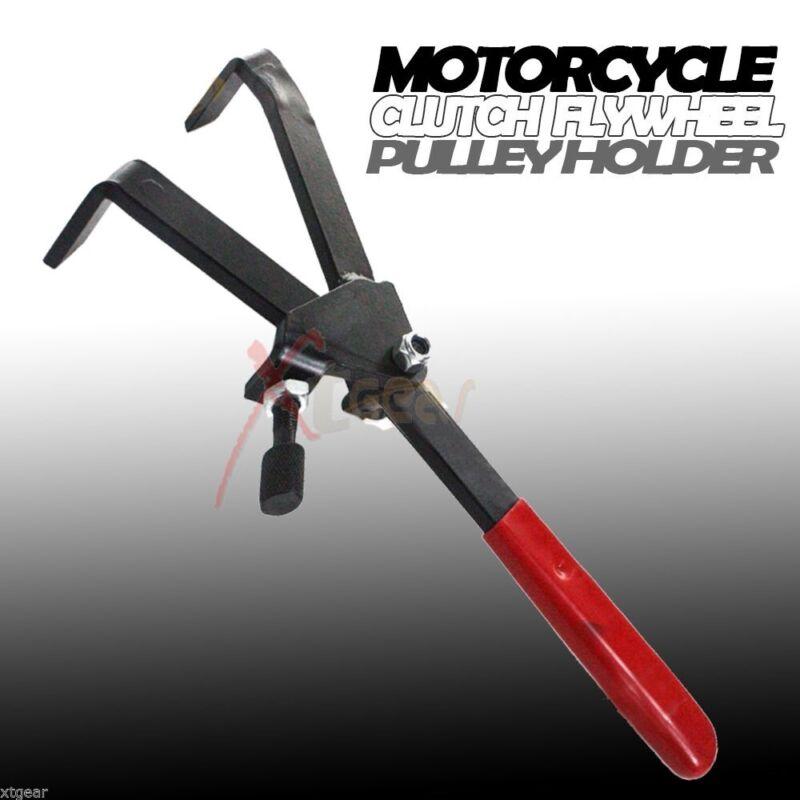 Motorcycle Clutch Flywheel Pulley Sprocket Holder Universal Motorbike Tool Kit