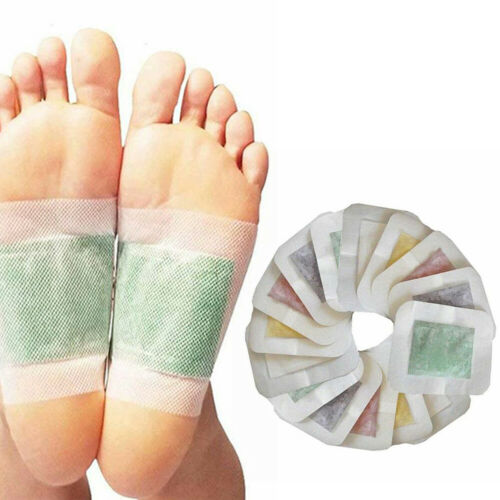 Detox Foot Pads Patch Detoxify Toxins Adhesive Keeping Fit Health Care Detox Pads