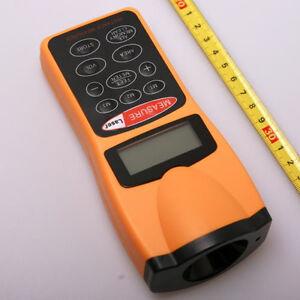 Digtal Lcd Laser Distance Meter Feet Measurer Measuring Range Finder Device Tool Ebay