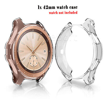 Casual Style Soft TPU Watch Case Protector Cover for Samsung Galaxy Watch 42mm