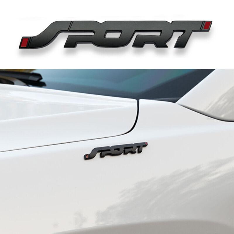 Racing Car SPORT Emblem Fender Badge Sticker Metal 3D Logo Stickers Accessories