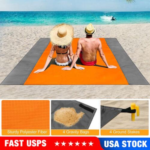 Beach Mat Blanket Rug Mattress Camping Outdoor Picnic Waterp