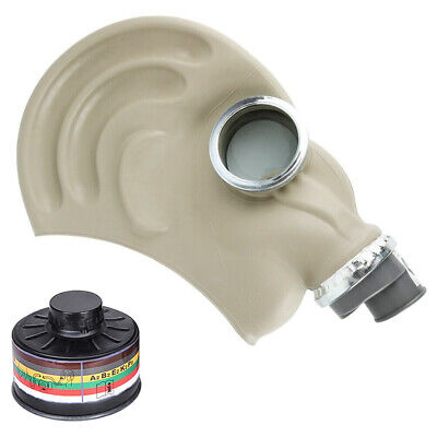 Military Gas Mask Nbc Cbrn Abek P3 Chemical Biological - With Unexpired Filter