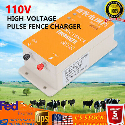 Solar Electric Fence Energizer Controller Ranch Animal Orcha