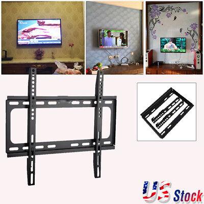 14 ''- 32'' INCH SLIM LCD LED PLASMA FLAT TV WALL MOUNT BRACKET HOLDER BLACK US
