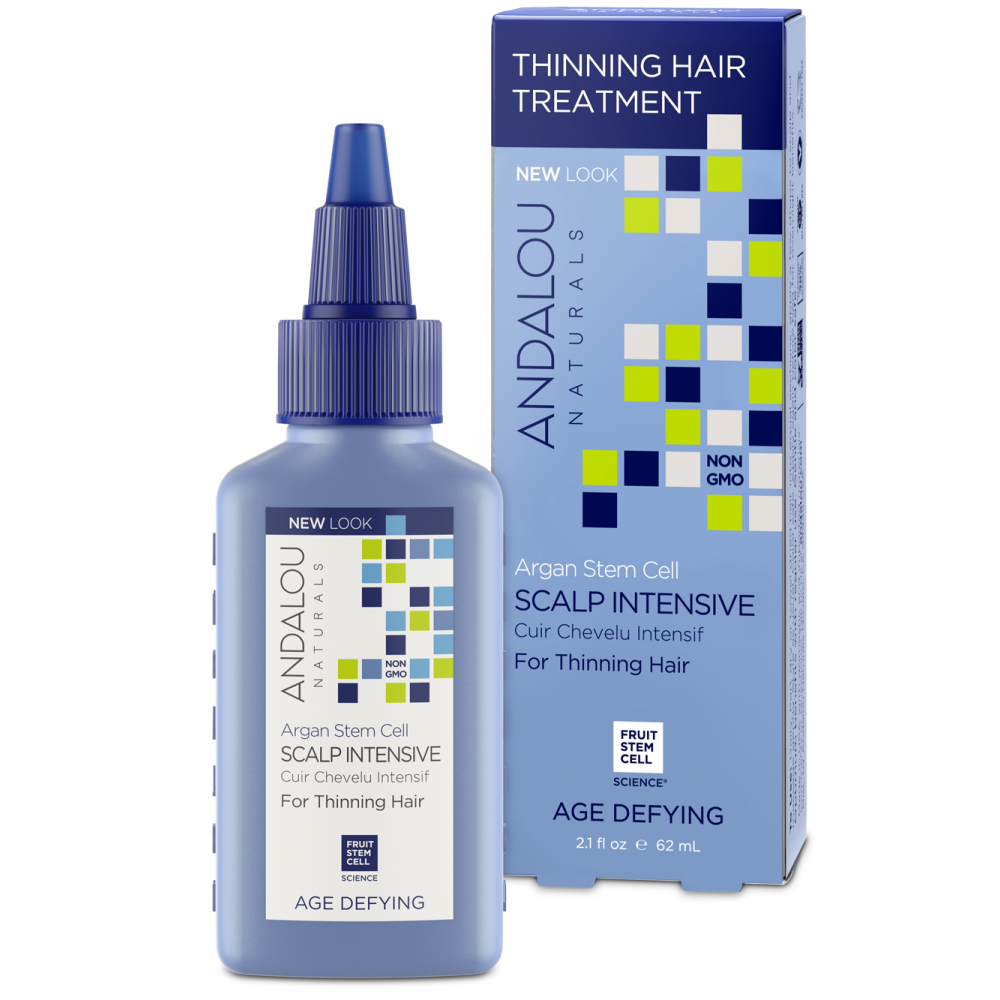 Andalou Naturals Hair Styling Products and Thinning Hair Tre