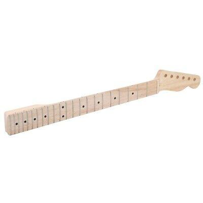 22 Fret CA Maple Guitar Neck for TL Tele Electric Guitar Part Polished Truss Rod