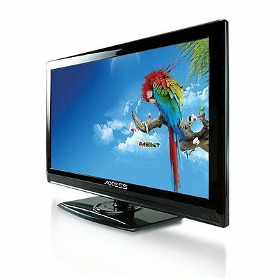 "19"" LED LCD 1080p FULL HDTV TV TELEVISION 12V MULTI-USE CAR RV CORD AC/DC NEW"