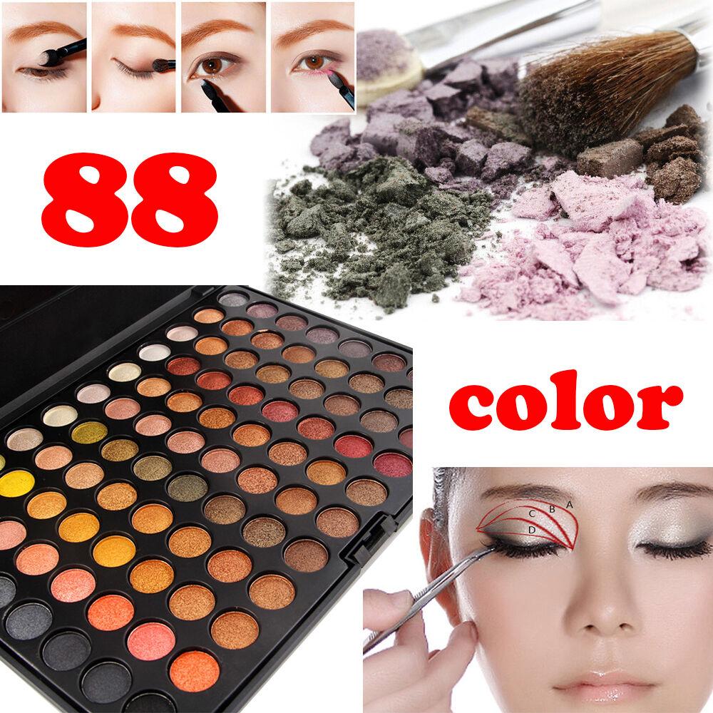 MISS ROSE 88 Color Pro 3D Fashion Eyeshadow Palette Shimmer