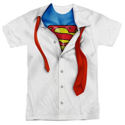 Superman T Shirt Costume (