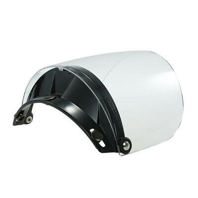 Universal 3-Snap Flip Up Visor Shield Lens For Open Face Motorcycle Helmet P6Z2
