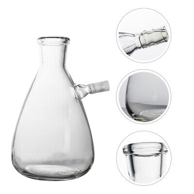 1pc Transparent Laboratory Equipment Filtering Flask For Chemistry Teaching